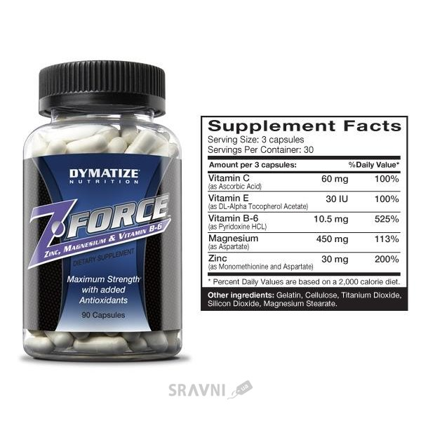 Фото Dymatize Z-Force 90 caps