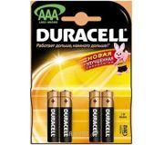 Фото Duracell AAA bat Alkaline 4шт Basic 81267217