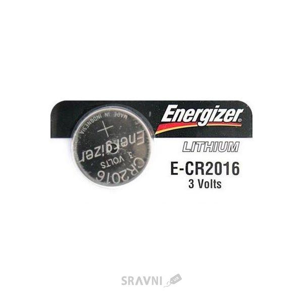 Фото Energizer CR-2016 bat(3B) Lithium 1шт