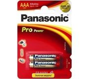 Фото Panasonic AAA bat Alkaline 2шт Pro Power (LR03XEG/2BP)