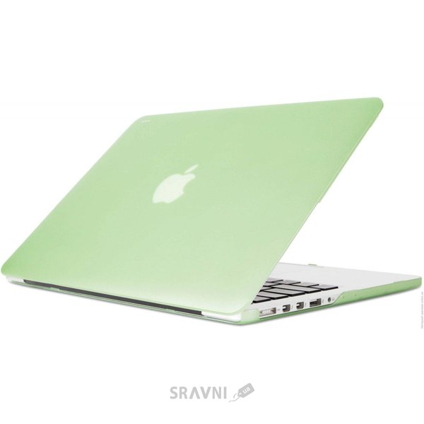 "Фото Moshi Ultra Slim Case iGlaze for MacBook Pro 13"" Retina Honeydew Green (99MO071611)"