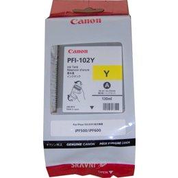 Canon PFI-102Y