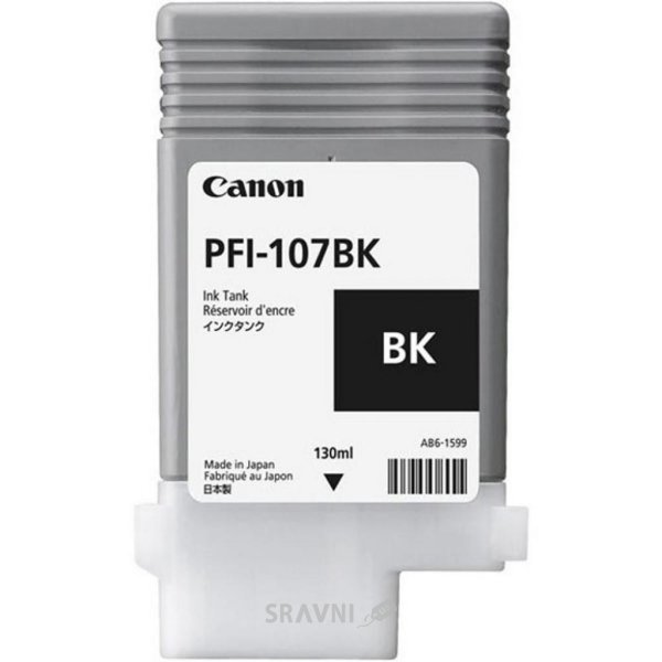 Фото Canon PFI-107BK