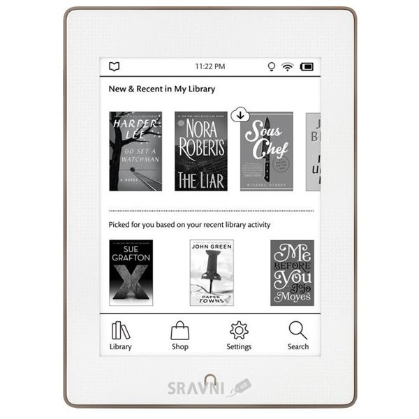 Фото Barnes&Noble Nook GlowLight Plus