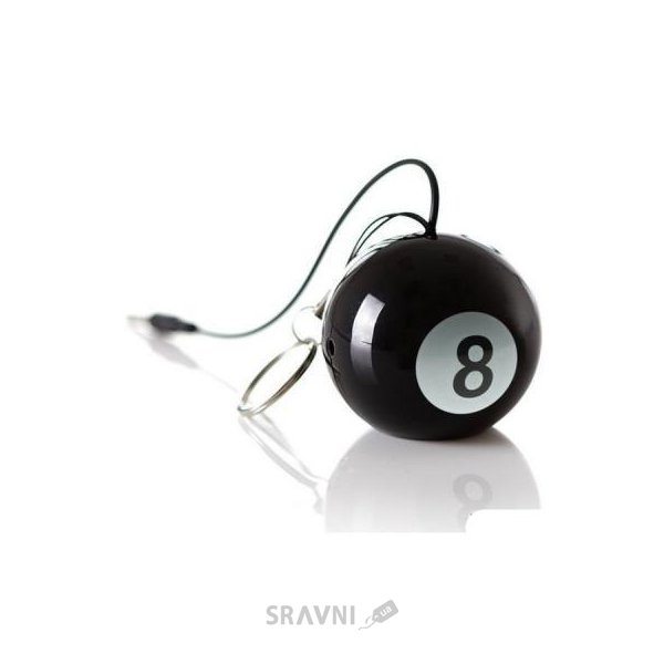 Фото KitSound 1.0 Mini Buddy Speaker Magic 8 Ball (KSNMB8BA)