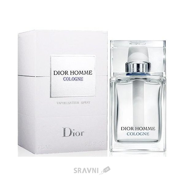 Фото Christian Dior Homme Cologne EDT