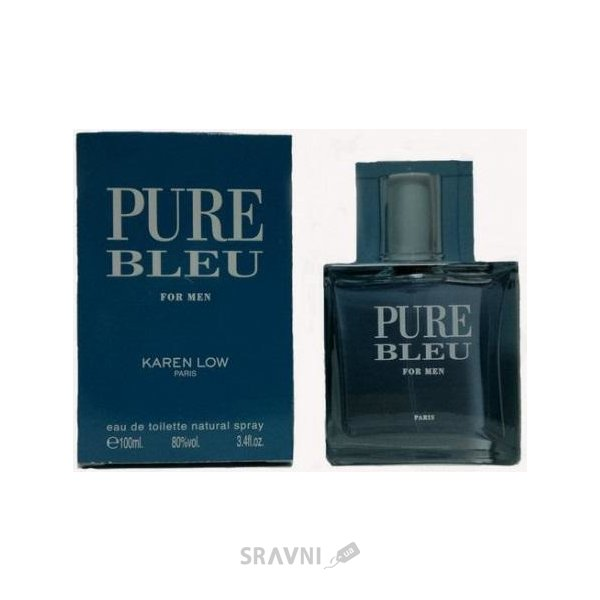 Фото Geparlys Pure Bleu For Men EDT