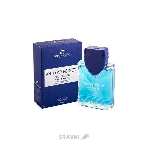 Фото Lotus Valley Anthony Perfect Pure Instruction EDT