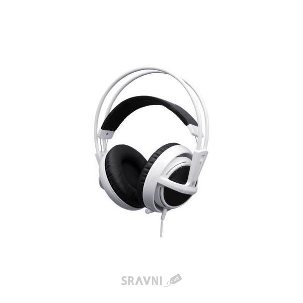 Фото SteelSeries Siberia V3 White (61356)