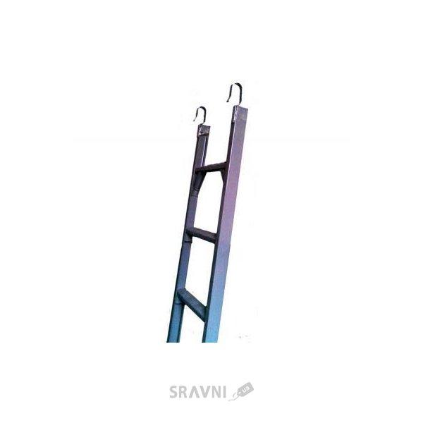 Фото ЗИМ Лестница диэлектрическая навесная 8 ступеней