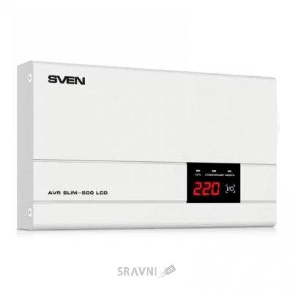 Фото Sven AVR SLIM-500 LCD