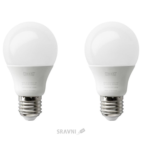 Фото IKEA RYET LED bulb E27 600 lumen (703.216.58)