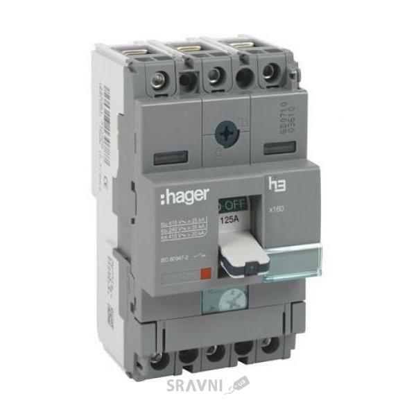 Фото Hager Автоматический выключатель h400 HND400U
