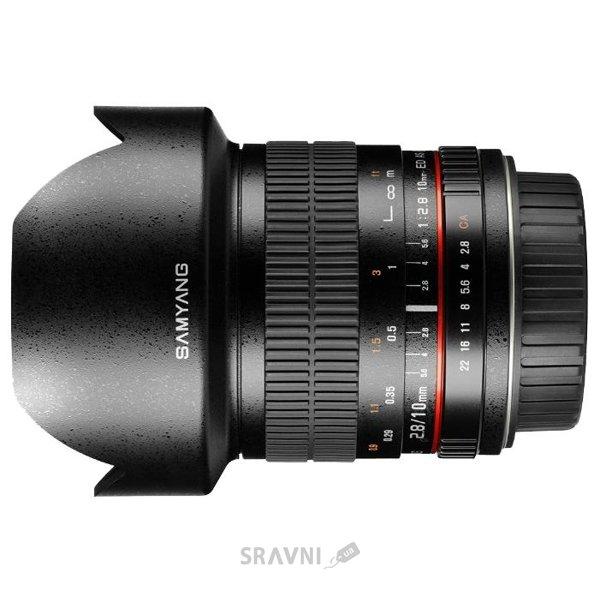 Фото Samyang 10mm f/2.8 ED AS NCS CS Sony E