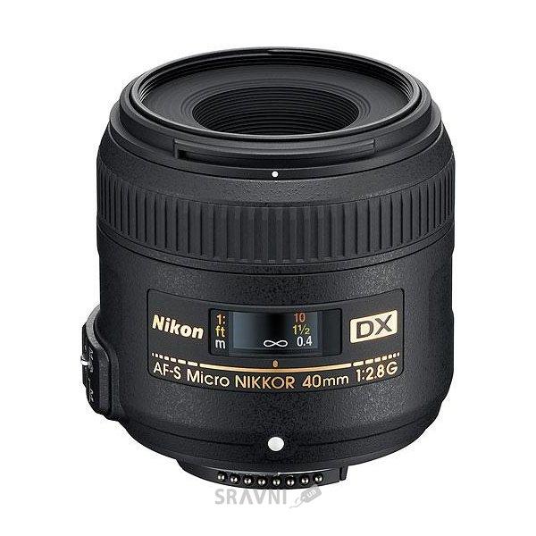 Фото Nikon 40mm f/2.8G AF-S DX Micro NIKKOR