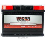 Фото Vesna 6СТ-75 АзЕ Premium Euro (415275)