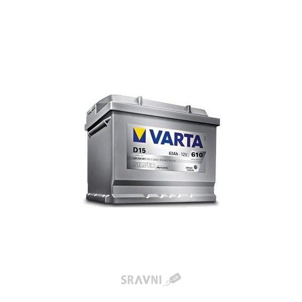 Фото Varta 6СТ-74 SILVER dynamic (E38)