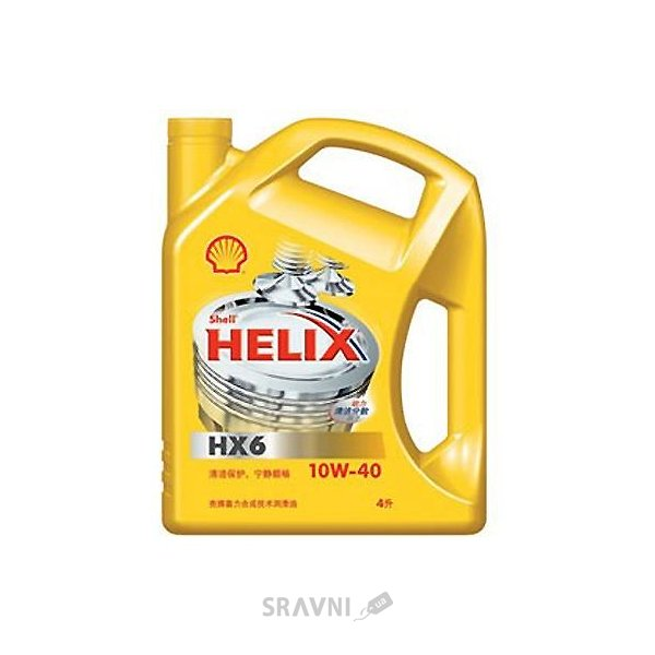 Фото SHELL Helix HX6 10W-40 4л