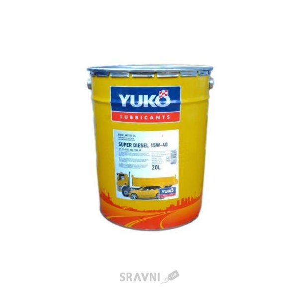 Фото Yukoil Super Diesel 15W-40 20л