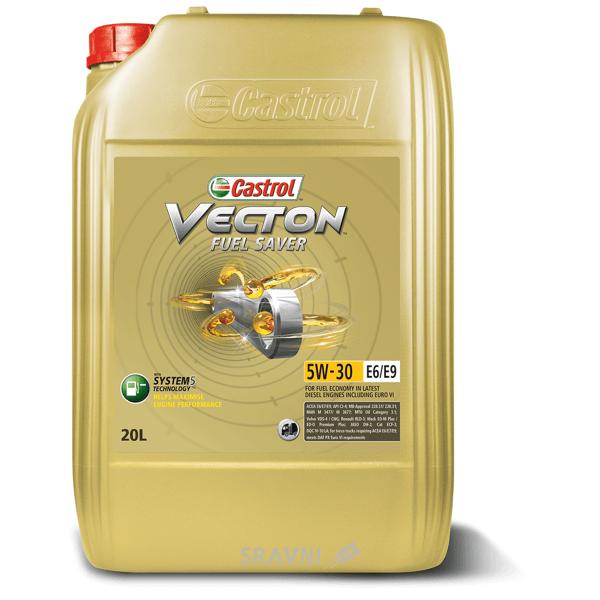Фото CASTROL Vecton Fuel Saver 5W-30 E6/E9 20 л