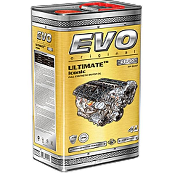Фото EVO Oil Ultimate Iconic 0W-40 4л