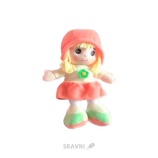 Фото Devilon Кукла с вышитым лицом розовая (31908-2)