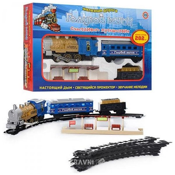 Фото Bambi Железная дорога вагон (7014)