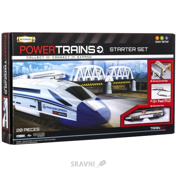 Фото Power Trains Железная дорога с мостом (JP41384)