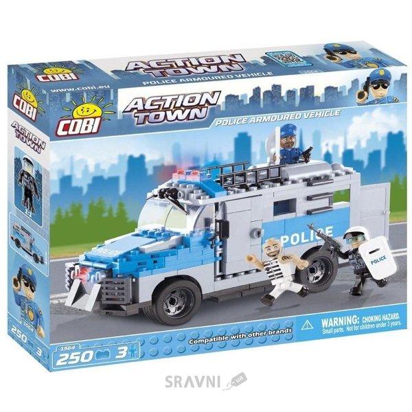 Фото COBI Полицейская бронированная машина 1564 250 деталей