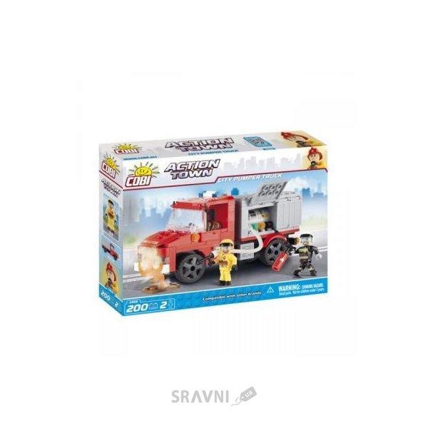 Фото COBI Пожарная насосная машина 200 деталей (1468)