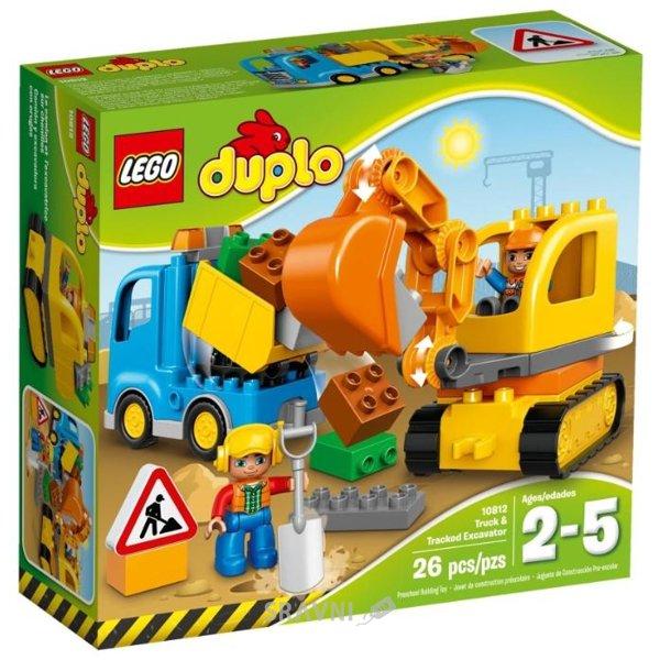 Фото LEGO Duplo 10812 Грузовик и гусеничный экскаватор