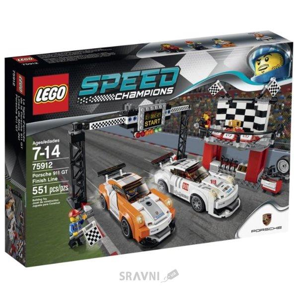 Фото LEGO Speed Champions 75912 Финишная прямая Porsche 911 GT
