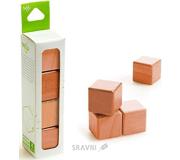 Фото Tegu Набор из 4 кубиков (красное дерево) G-12-010