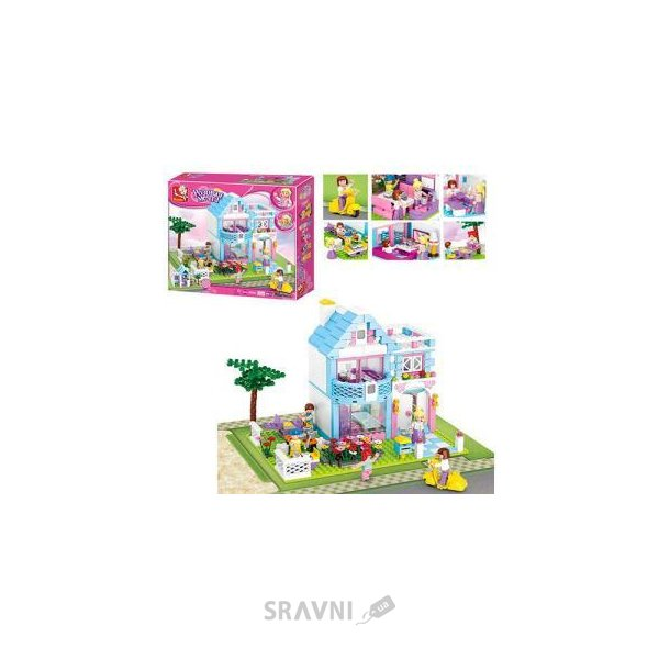Фото SLUBAN Розовая мечта M38-B0535 Семейный дом