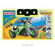 Фото Meccano Build&Play 733121B Мотоцикл с тремя колесами