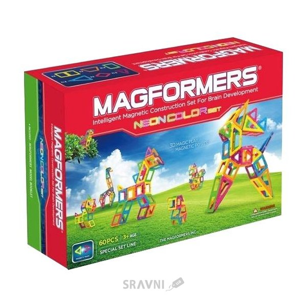 Фото Magformers 63110 Neon Color Set
