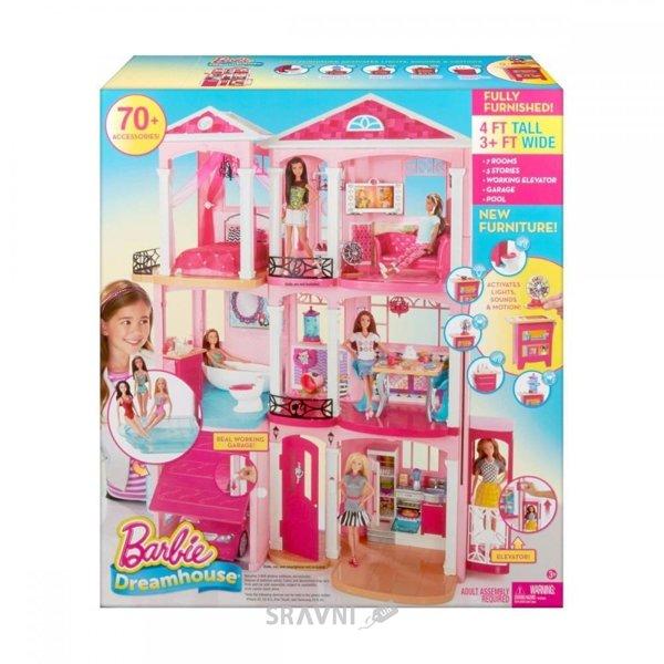 Фото Mattel Barbie Дом мечты Малибу (CJR47)