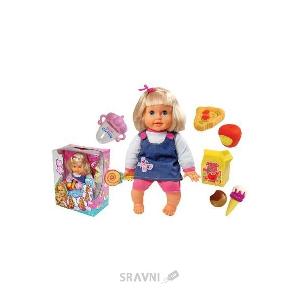 Фото Toyland Интерактивная кукла - сладкоежка (0813K-4)