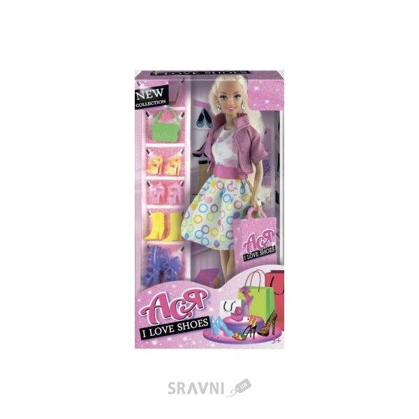 Фото Toys Lab Ася Я люблю обувь, блондинка в платье (35082)