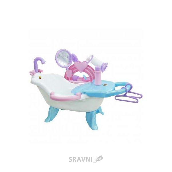 Фото ПОЛЕСЬЕ Набор для купания кукол №2 с аксессуарами (47250)