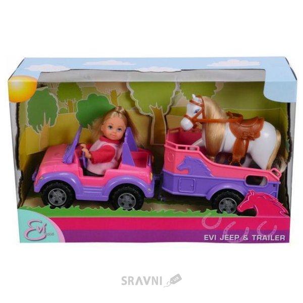 Фото Simba Еви в джипе с прицепом и лошадкой (5737460)