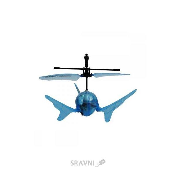 Фото Auldey Летающий шар Aero Spin синий, подсветка (YW859110-6)