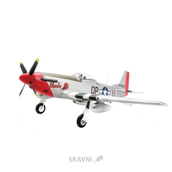 Фото E-flite P-51D Mustang BNF 1219 мм Spektrum AR636A (EFL8250)