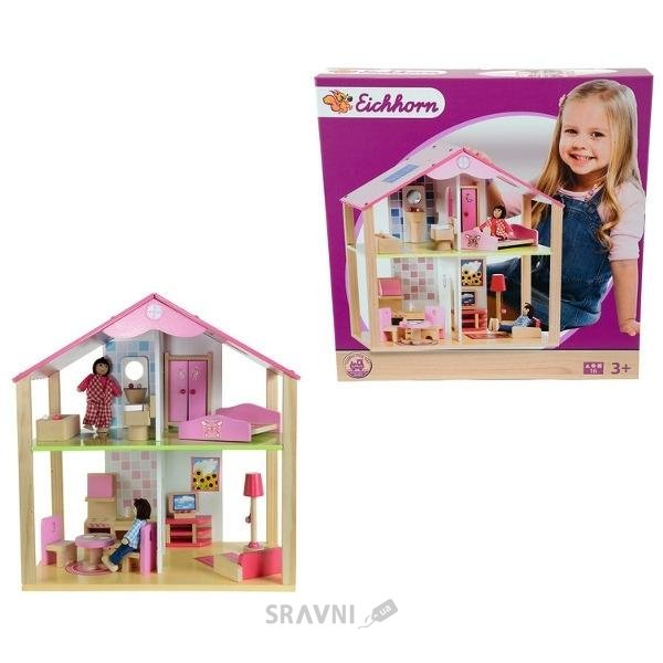 Фото Eichhorn Маленький домик для кукол (2498)