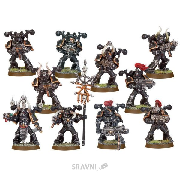 Фото Games Workshop Набор фигурок Games Workshop Chaos Space Marine Squad (99120102055)