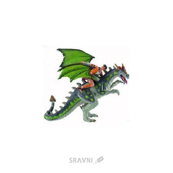 Фото Bullyland Всадник на драконе 18 см (75587)