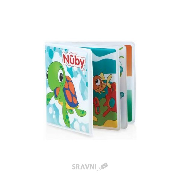 Фото Nuby Книжка-малышка (4755)