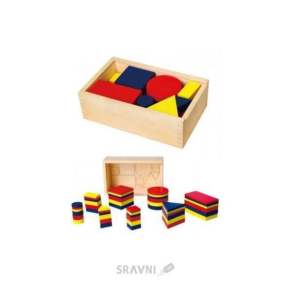 Фото Viga Toys Логические блоки (56164)