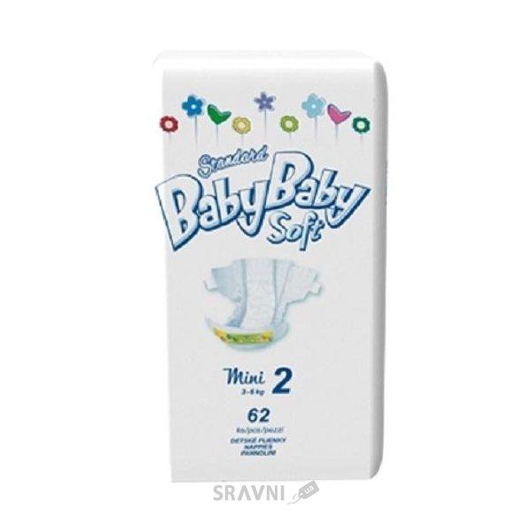 Фото BABYBABY Soft Standard Mini 2 (62 шт)