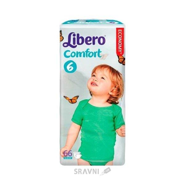 Фото Libero Comfort 6 12-22 кг (66 шт.)